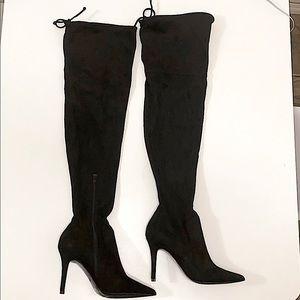 Black Thigh High Boots!🖤 Aldo Asteille Boots